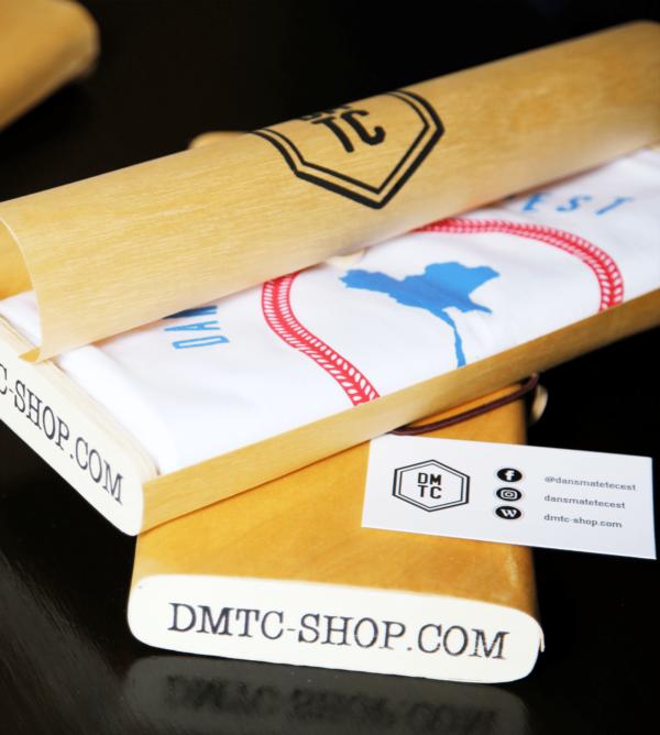 DMTC Shop T shirt Bangkok blanc