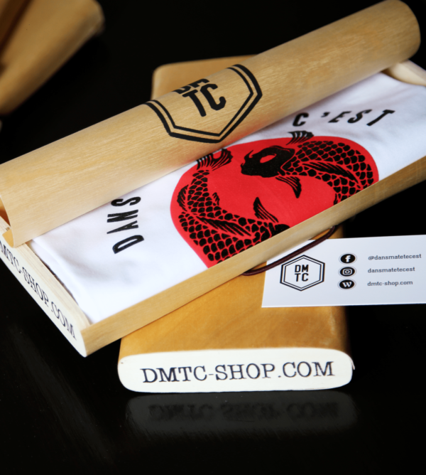 DMTC Shop T shirt Tokyo blanc